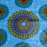 African Print-Blue
