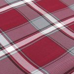 Maroon/Grey Plaid